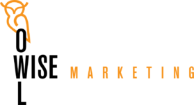 owl wise marketing logo